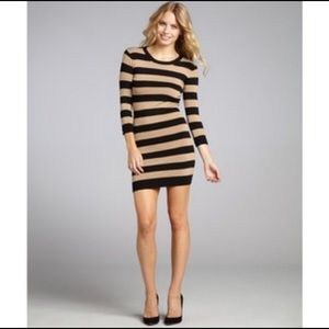 NWT French connection Bambi striped sweater dress
